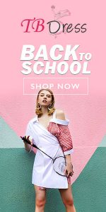 Tbdress  Back to School Sale Extra 12% Off Over $69 Sitewide,Code:TB39, Shop Now!
